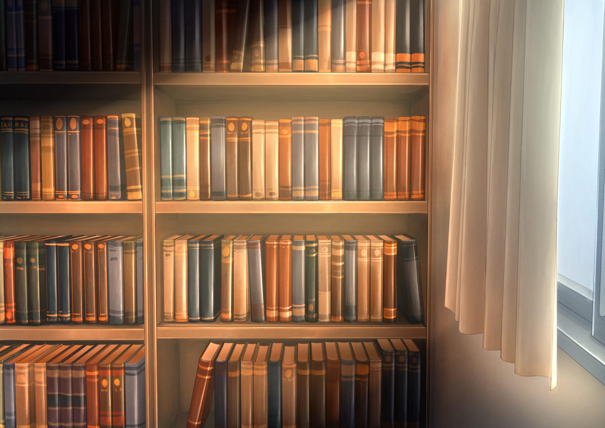 まるリスの本棚